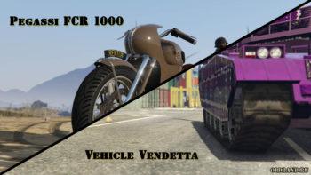 gta online pegassi fcr 1000. vehicle vendetta