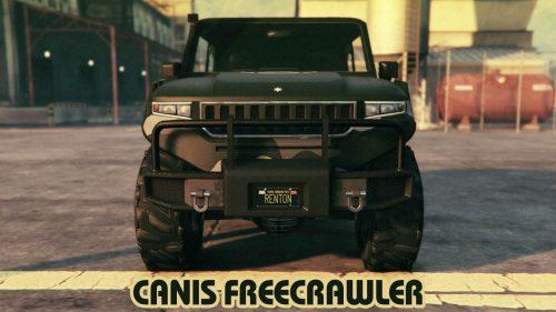 gta online canis freecrawler