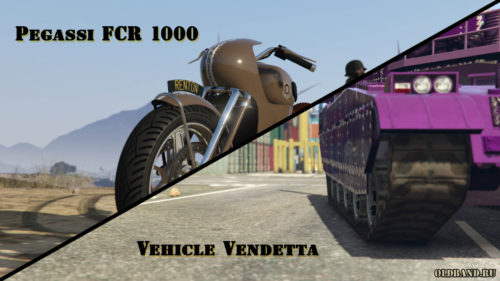 gta online pegassi fcr 1000. vehicle vendetta
